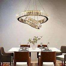 Modern Pendant Light LED Crystals Chandelier Two
