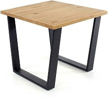 Modern Pine Antique Waxed Lamp Table Living Room