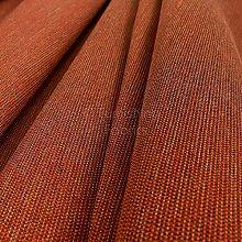Modern Plain Chenille Smooth Textured Orange