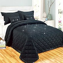 Modern Quality 5 Piece Diamond Quilted Reversible