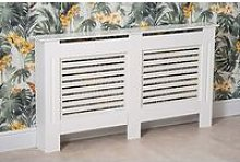 Modern Radiator Cover Wood MDF Wall Cabinet