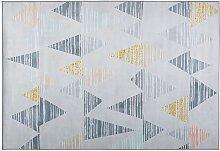 Modern Rectangular Living Room Polyester Fabric