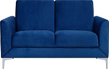 Modern Retro Upholstered 2 Seater Sofa Loveseat