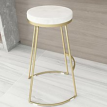 Modern Round Bar Stools, Industrial Barstools with