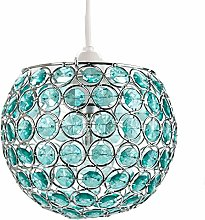 Modern Round Globe Easy Fit Pendant Shade with