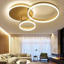 Modern Round LED Chandelier Ceiling Light , 3