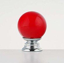 Modern Round Shape Crystal Shake Handles Concise
