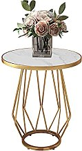 Modern Round Side Table - Small Multipurpose Sofa