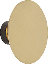 Modern Round Wall Lamp Gold - Pulley