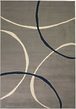 Modern Rug Circle Design 120x170 cm Grey VD02062 -