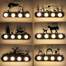 Modern Rustic Wall Lamp for Bedroom,Living