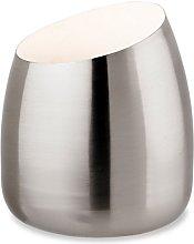 Modern Satin Silver Chrome Table/Floor Standing