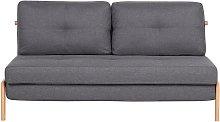 Modern Scandinavian Fabric 2-Person Sleeper Sofa