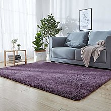 Modern Shaggy Carpet 40 x 100 cm Grey Ultra Soft