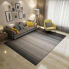 Modern Short-pile Area Rug black, grey Bedroom