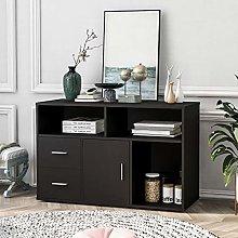 Modern Sideboard Storage Cabinet Table TV Unit