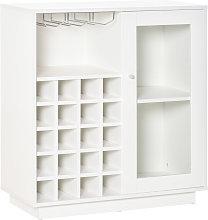 Modern Sideboard Wine Cabinet Cupboard w/ Glass