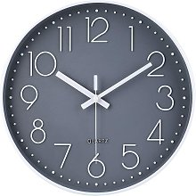 Modern silent and tick-free wall clock, silent