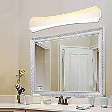 Modern Simple 20W LED Bathroom Wall Lamp 51cm Bone