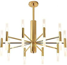 Modern Simple G4 LED Chandeliers, Creative Golden