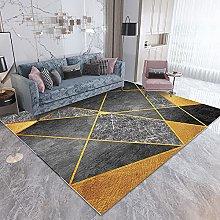 Modern Simple Geometric Irregular Carpet Thickened