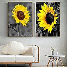 Modern simplicity Sunflower Wall Art Posters Print