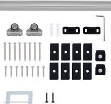Modern Sliding Barn Door Closet Hardware Track Kit