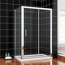 Modern Sliding Shower Cubicle Door 1200 x 700 mm