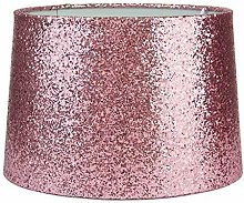 Modern Soft Pink Sparkling Metallic Glitter Dual