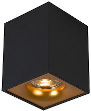 Modern spot black with gold - Quba delux