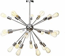 Modern Sputnik Chandelier 21 Lights Branches