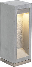Modern standing outdoor lamp gray 40 cm - Sneezy