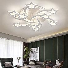 Modern Star LED Chandelier Ceiling Light , 9 Head