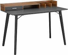 Modern Study Desk Home Office Workstation Steel