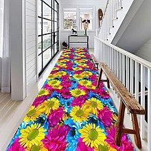Modern Style Floor Area Rug Corridor Carpets 3D