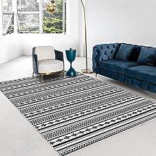 Modern Style Geometric Irregular Printed Carpet