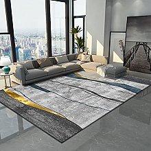 Modern Style Geometric Thickened Carpet Irregular