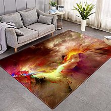 Modern Style Rug Colored clouds Rugs Living Room