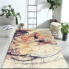 Modern Style Rug Design carpet Color messy line