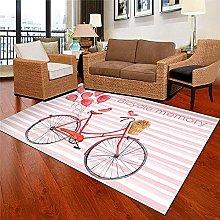 Modern Style Rug Design carpet Fashion pink