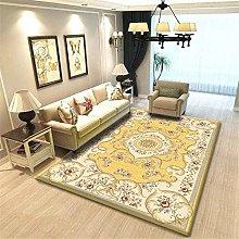 Modern Style Rug Design carpet Yellow vintage
