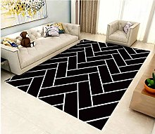 Modern Style Rug Design Rugs Black and white