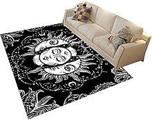 Modern Style Rug Design Rugs Black and white sun