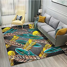 Modern Style Rug Design Rugs Colorful feathers