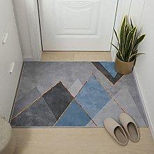 Modern Style Rug Design Rugs Gray blue geometric