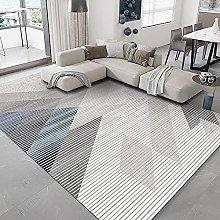 Modern Style Rug Design Rugs Gray line geometry