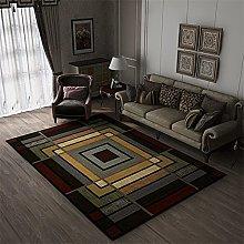 Modern Style Rug Design Rugs Nine square grid