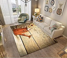 Modern Style Rug Design Rugs Watering can on