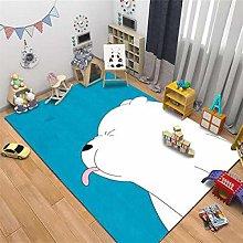 Modern Style Rug Designer Area Carpet Cute white
