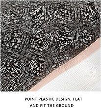 Modern Style Rug Designer Short-pile Carpet Black